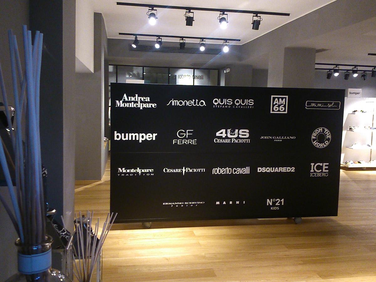 Andrea Montelpare Milan showroom