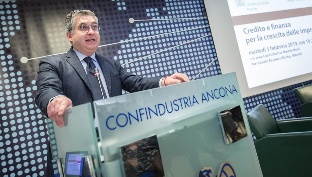 Claudio Schiavoni, presidente di Confindustria Marche